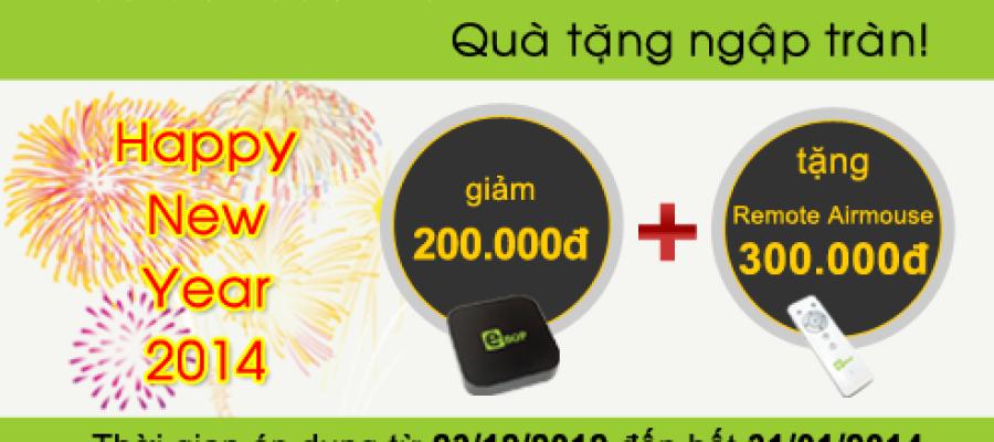 Mừng xuân mới – tặng 200,000 đồng khi mua eBop