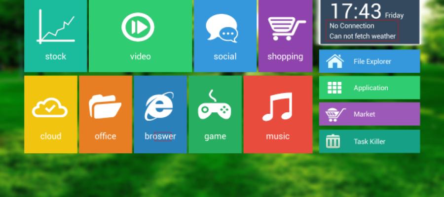 Launcher Minix cho Android TV box đã có bản chính thức