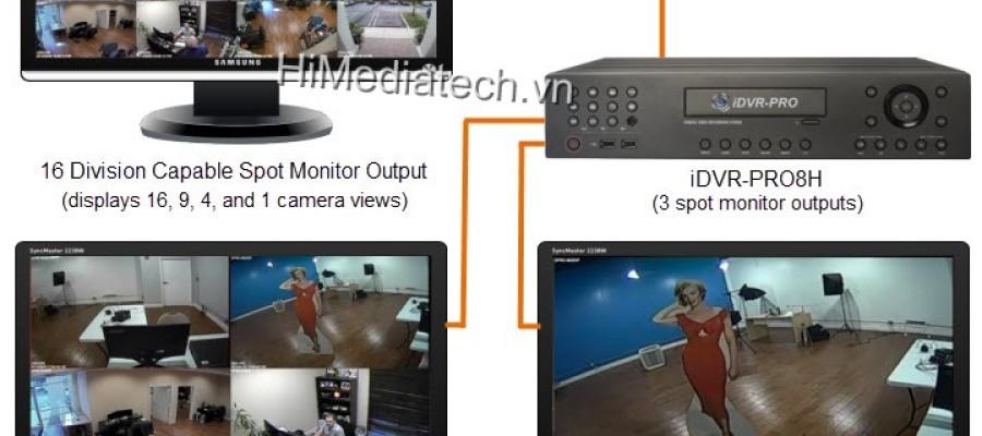 Giải pháp himedia android box để theo dõi camera giám sát tiện lợi, chi phí thấp