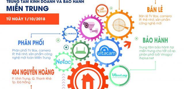 Thông cáo: Thành lập TRUNG TÂM KINH DOANH VÀ BẢO HÀNH VINAGO MIỀN TRUNG