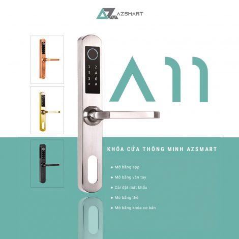 Khóa cửa thông minh Azsmart – A11